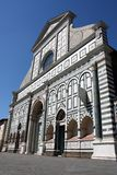 Santa Maria Novella n.3. Basilica of Santa Maria Novella in the homonym square in Florence Stock Images