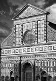 The Santa Maria Novella`s facade Royalty Free Stock Images