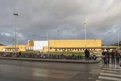 Santa Maria Novella station i Florence Royaltyfri Bild