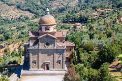 Santa Maria Nuova Church in Cortona ,Italy Royalty Free Stock Photo