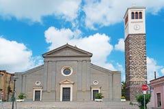 Santa Maria onder wolken Royalty-vrije Stock Foto's