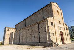 Santa Maria a pie di Chienti (Macerata) - Church Royalty Free Stock Photography