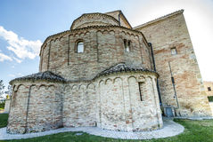 Santa Maria a pie di Chienti (Macerata) - Church Royalty Free Stock Photos