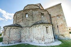 Santa Maria a pie di Chienti (Macerata) - Church Royalty Free Stock Photos