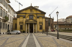 Santa Maria Podone-Kirche in Mailand Lizenzfreie Stockbilder