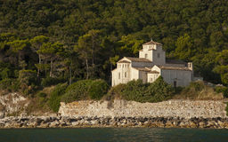 Santa Maria of Portonovo Stock Photography