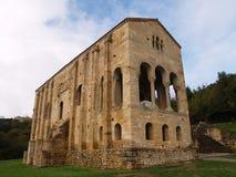 Santa Maria protegido UNESCO del Naranco Foto de Stock Royalty Free