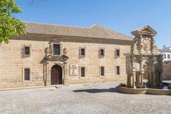 Santa Maria quadrieren, Santa Maria-Brunnen, San Felipe Neri Old Co Stockbilder