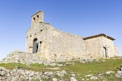Santa Maria robi Castelo kościół Obraz Stock