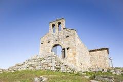 Santa Maria robi Castelo kościół w Castelo Mendo Obraz Royalty Free