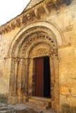 Santa Maria Romanesque Church santa Cruz Seros Royalty Free Stock Images