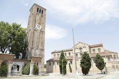 Santa Maria and San Donato church, Murano island, Venice, Italy Stock Photo