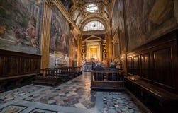 Santa Maria sopra Minerva Stock Image