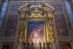 Santa Maria Sopra Minerva church, Rome, Italy Stock Photo