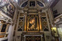 Santa Maria Sopra Minerva church, Rome, Italy Stock Images
