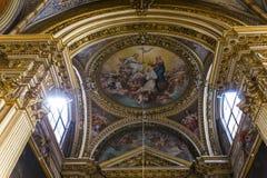 Santa Maria Sopra Minerva church, Rome, Italy Stock Image