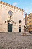 Santa Maria in Sopra Minerva, Roma Fotografia Stock