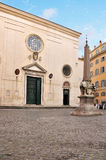 Santa Maria in Sopra Minerva, Rome Stock Photography