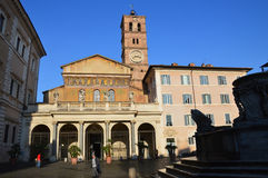 Santa Maria in Trastervere Royalty Free Stock Photos