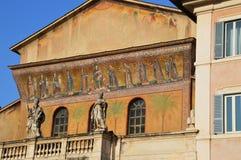 Santa Maria in Trastervere Royalty Free Stock Photo