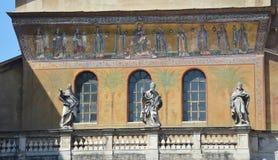 Santa Maria in Trastervere Stock Images