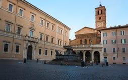 Santa Maria in Trastevere Stockfoto