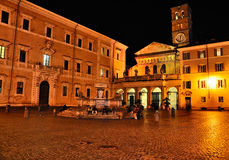 Santa Maria in Trastevere Stock Photo