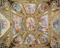 Santa Maria in Trastevere Stock Image