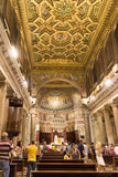 Santa Maria in Trastevere church, Rome, Italy Stock Images