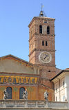 Santa Maria in Trastevere, Rome Royalty Free Stock Images