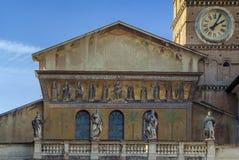 Santa Maria in Trastevere, Rome Stock Photo