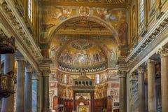 Santa Maria in Trastevere, Rome Royalty Free Stock Photography