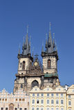 Santa Maria of Tyn church - Prague Royalty Free Stock Photos