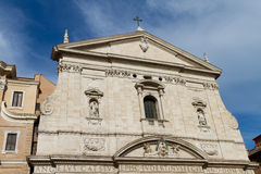 Santa Maria in Vallicella Church Royalty Free Stock Photos