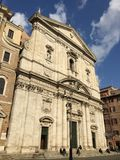 Santa Maria in Vallicella church in Rome, Italy Royalty Free Stock Photo