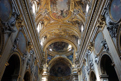 Santa Maria in Vallicella, Rome stock afbeeldingen