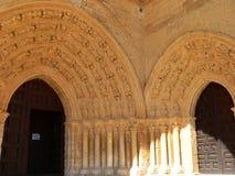 Santa Maria, Villalcazar de Sirga ( Spain ) Royalty Free Stock Photos