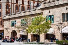 Santa Mariade Montserrat Stockfoto