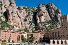 Santa Mariade Montserrat, Spanien Lizenzfreie Stockbilder