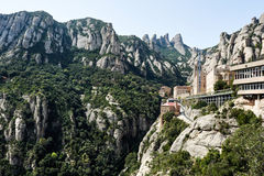 Santa Mariade Montserrat, Spanien Lizenzfreie Stockfotos