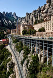 Santa Mariade Montserrat, Spanien Stockbilder