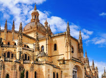 Santa Mariade Segovia, Spanien Stockbild