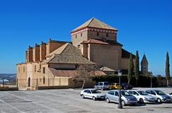 Santa- Mariakirche, Osuna, Spanien. Stockbilder