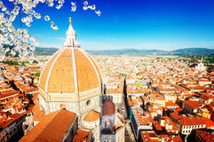 Santa Mariea del Fiore, Florence, Italy Stock Images