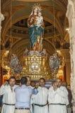 Santa Marija Assunta procession in Gudja, Malta. Royalty Free Stock Images