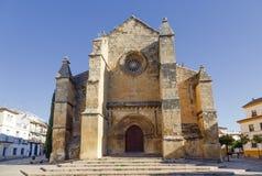 Santa Marina church in Cordoba stock photo