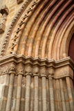 Santa Marina church door in Seville Spain Royalty Free Stock Images