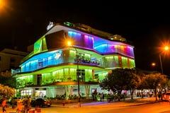 Santa Marta casino. Modern style architecture Royalty Free Stock Images