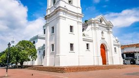 Santa Marta Cathedral Colombia South America image stock
