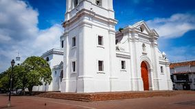 Santa Marta Cathedral Colombia South America photographie stock